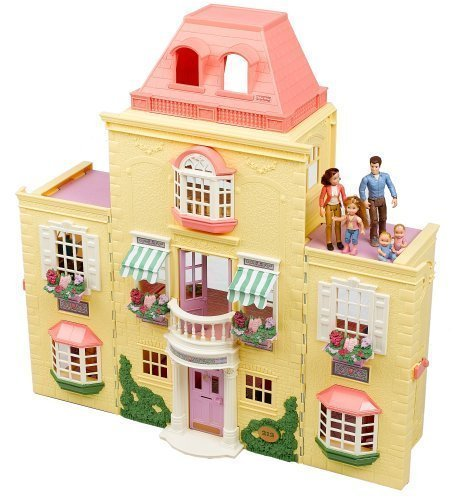 Fisher Price Loving Family Twin Time Doll House Special Bonus Fisher-Price