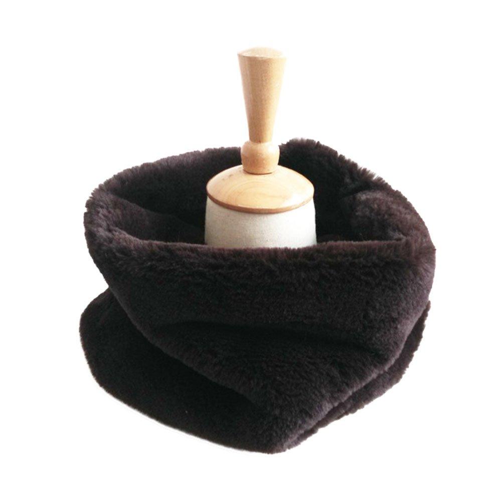 DELEY Autunno Invernali Donna Ladies Morbido Caldo Elegante Cappotto Wrap Sciarpa di Pelliccia Finta Collo Avvolgere Foulard Scarf
