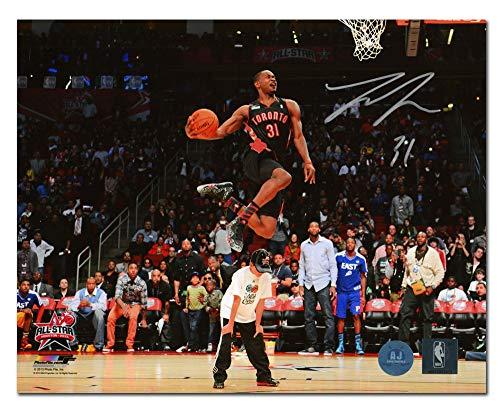 Autographed Slam Dunk - AJ Sports World Terrence Ross Toronto Raptors Autographed Slam Dunk Contest Champ 8x10 Photo
