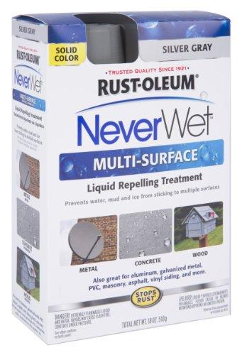 Rust Oleum 275619 Never Purpose Silver