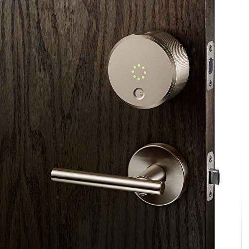 August Smart Lock - Keyless Home Entry with Your Smartphone, Champagne Photo #6