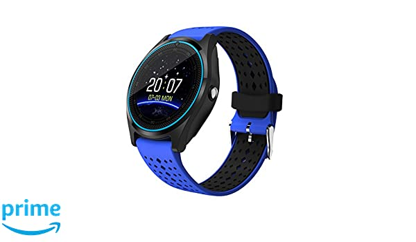 AIYIBEN 1,22-Inch V9 Smart Watch, Ultra-Delgada táctil Reloj ...