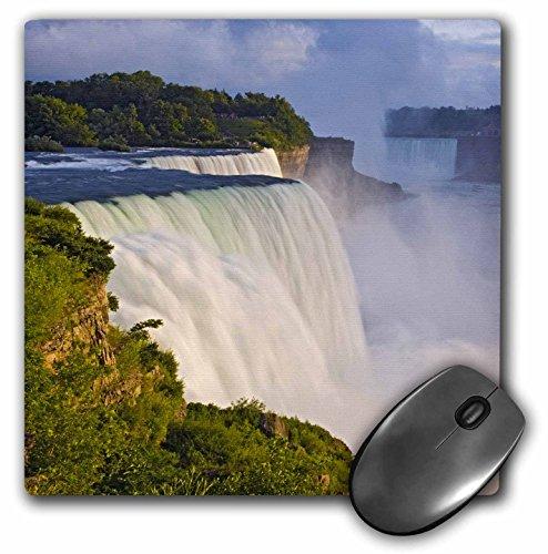 3dRose LLC 8 x 8 x 0.25 Inches Mouse Pad, Niagara Falls, American Falls, Horseshoe Falls, Jaynes Gallery (mp_93047_1)