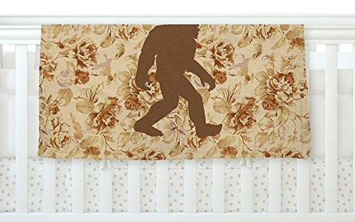 KESS InHouse Alias Bigfoot Beige Brown Fleece Baby Blanket 40 x 30 [並行輸入品]   B077ZVYWFS