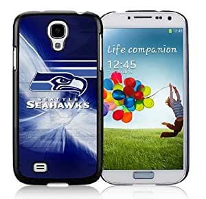 Seattle Seahawks 16_Samsung Galaxy S4 I9500 Black Phone Case Cover_32598