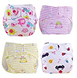 October Elf Unisex Baby Toddler Potty Training Pants Baby Toddler Cute Potty Training Pants Reusable (L, A2)