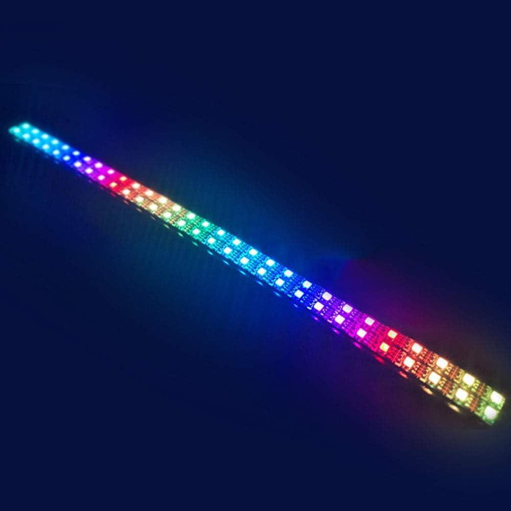 EliteMill Ventilador de PC RGB, 12 V, 6 Pines, 12 cm, Ventilador ...