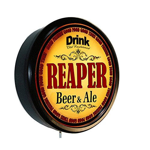(REAPER Beer and Ale Cerveza Lighted Wall Sign)