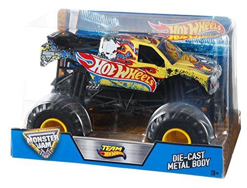 Hot Wheels Monster Jam 1:24 Team Hot Wheels (Hot Truck Monster 24 1 Wheels)