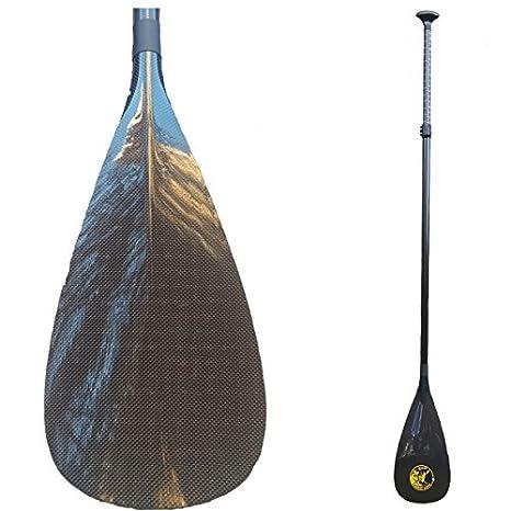 Paddle GanG Remo de Paddle Surf Ajustable Fabricado en Carbono Muy ...
