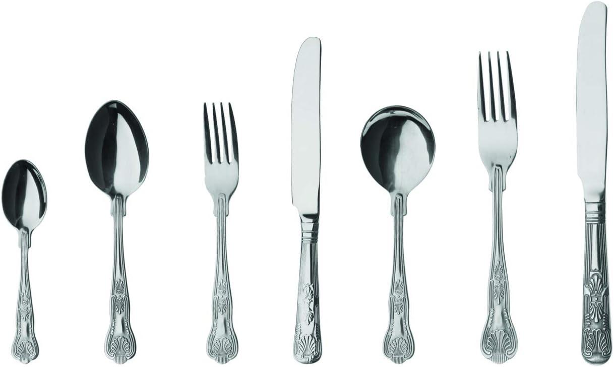 confezione da 12 finitura a specchio/ in acciaio INOX 18//0 /Everyday Parish posate Grunwerg Servizio da tavola