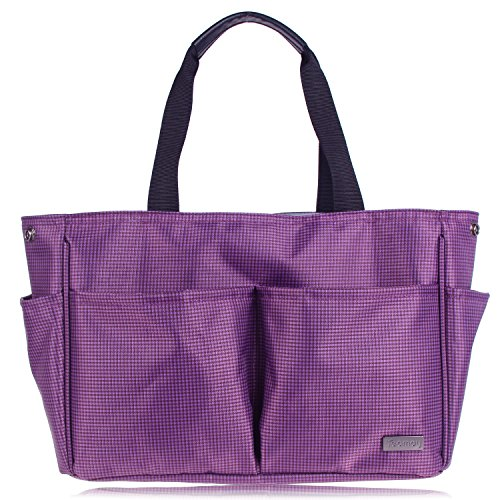 Teamoy Organizer Handbag Diapers Artists Purple