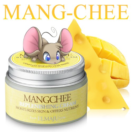 Firm Cheese (Mango and Cheese cream. [LadyKin] Elmaju Mangchee Replenishing Cream for Protein and vitamin packed cream firms up and tightens skin, boosting elasticity and resilience levels.)