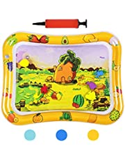 HABOM Upgraded Tummy Time Baby Water Mat Infants Slapped Toys Inflatable Play Playmat for 3 6 9 Months Toddlers Newborn Boy Girl Kids