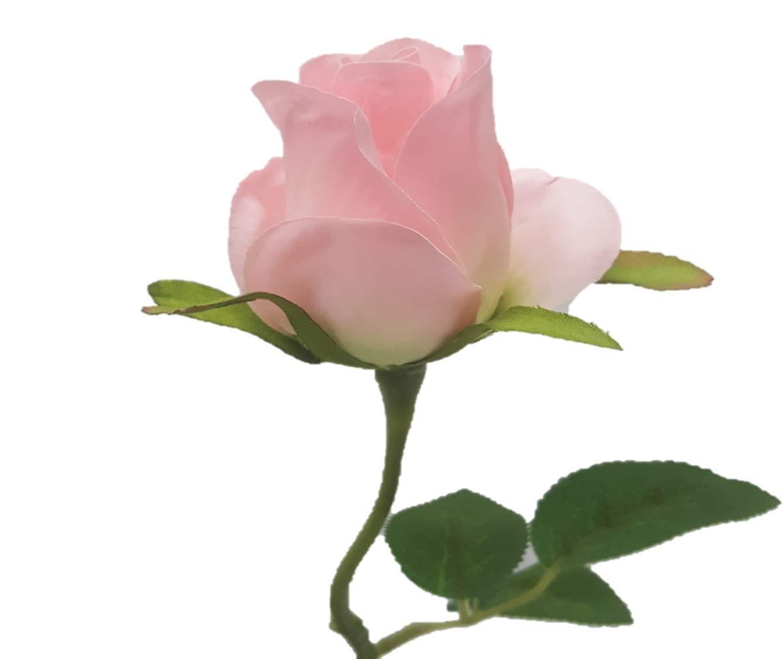 Silk-Flower-Garden-1-Dozen-Long-stem-Rose-Buds-22