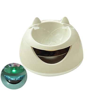 BTPDIAN Dispensador de Agua para Gatos dispensador de Agua para Mascotas automático de circulación de Agua