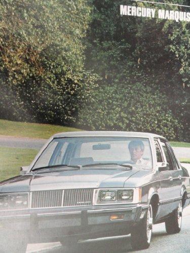 1984 Mercury Marquis Sales Brochure