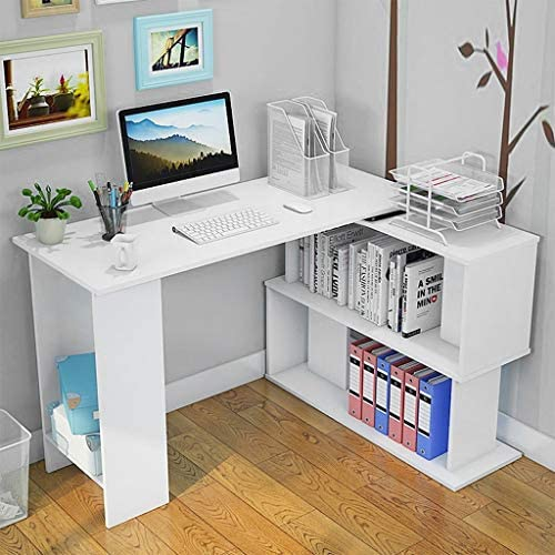 White Home Office Computer Desk