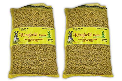 Wingfield Farm 25 Pound Virgin in Shell Peanuts (Two 25lb Bag) by Wingfield Farm (Image #5)