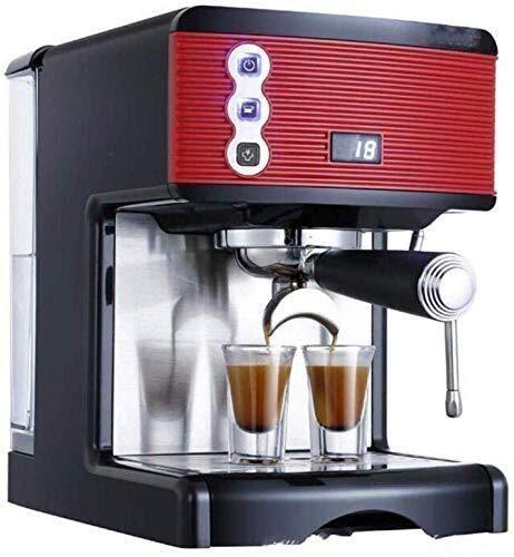 Cafetera doméstica pequeña Completa semiautomática Espresso Bomba ...