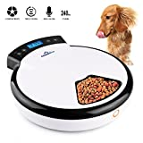 CanineStar Automatic Pet Feeder Pet Dish with Intelligent Real Voice...