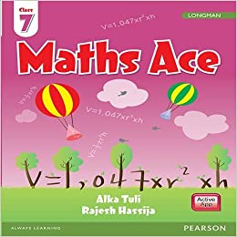 Maths Ace: By Pearson for CBSE Class 7: Amazon in: Alka Tuli, Rajesh