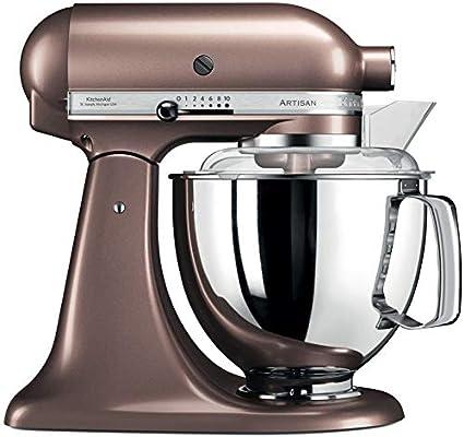 KitchenAid Artisan - Robot de cocina (Marrón, Acero inoxidable, 50/60 Hz): Amazon.es: Hogar