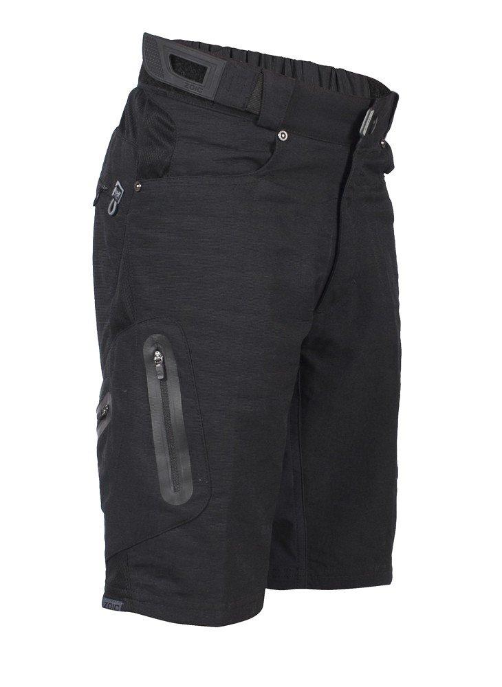 ZOIC Boy's Ether Jr. Shorts, Black, X-Large by Zoic (Image #1)