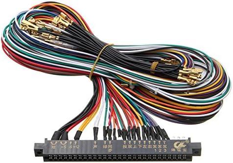 GOZAR Arnés De Cableado Multicade Arcade Video Game PCB Cable para ...