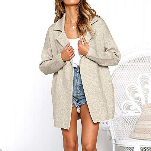 Gilet Gris Top Long Baisse Osyard Mode Blouse Poches Occasionnel Longues Collier Jacket Femme Manteau Ouvert Hiver Manches Solide Suit Parka De FwRqxd7R