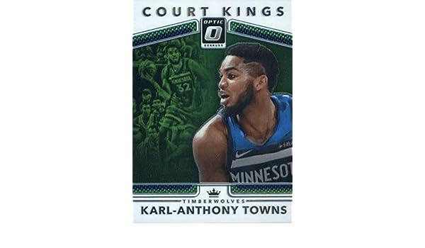 2fdb0f5e Amazon.com: 2017-18 Donruss Optic Court Kings #32 Karl-Anthony Towns  Minnesota Timberwolves: Collectibles & Fine Art
