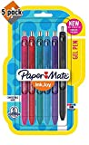 Paper Mate InkJoy Gel Pens, Medium Point, Assorted Colors, 6 Count - Pack of 5
