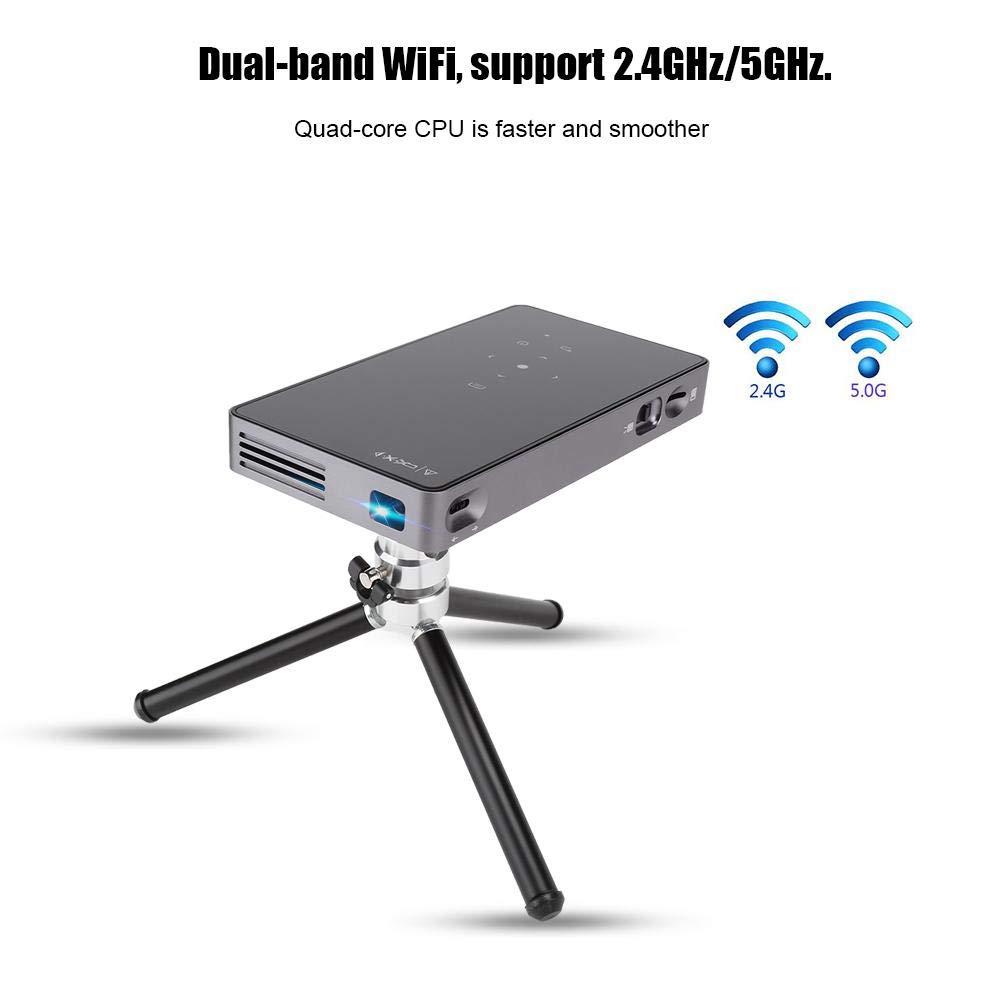 Wendry Proyector portátil para el hogar, microproyector ...