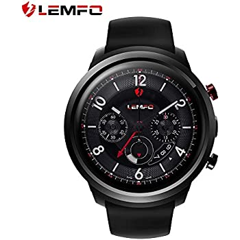 LEMFO LEF2 Android Smart Watches for Men - 512MB + 8GB Watches Android 5.1 OS GPS