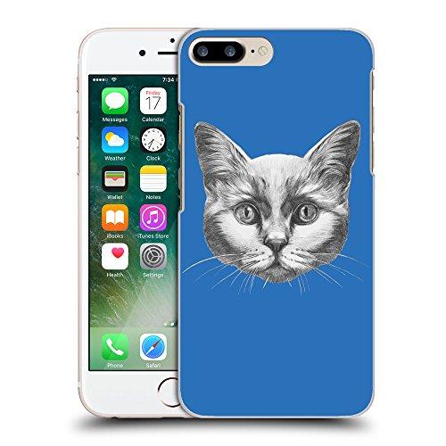GoGoMobile Coque de Protection TPU Silicone Case pour // Q05110608 Dessin chat Azur // Apple iPhone 7 PLUS
