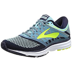 Brooks Women's Revel Island Blue/Evening Blue/Lime Popsicle Athletic Shoe