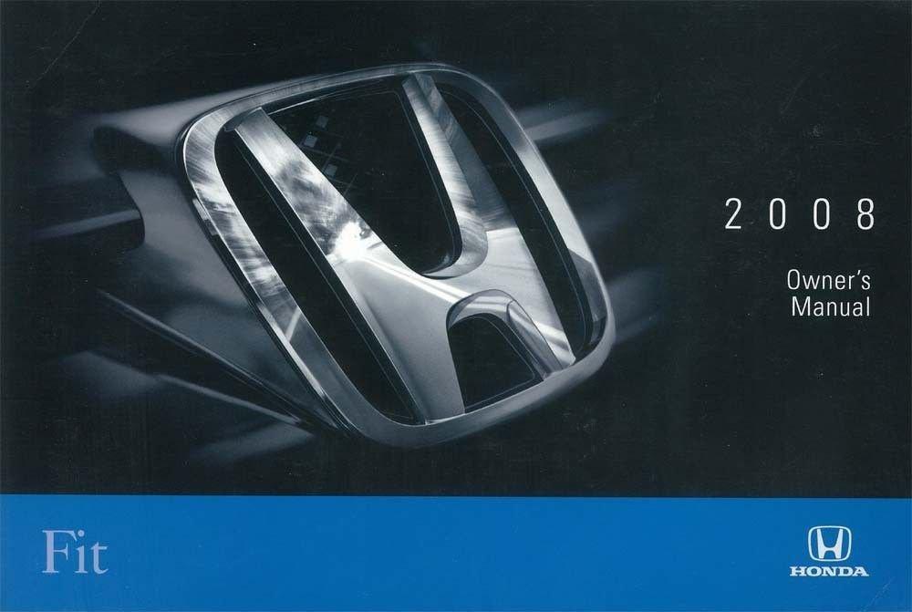 2008 honda fit manual guide