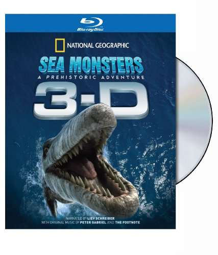 National Geographic: Sea Monsters - A Prehistoric Adventure (In Anaglyph 3-D) [Blu-ray]