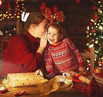 10 PCS Navidad pelo Scrunchies Velvet Elástico Hair Scrunchies pack Christmas Red Velvet and White Fur Trim Hair Scrunchie gomas de pelo scrunchies para las mujeres niñas accesorios de pelo: Amazon.es: Belleza