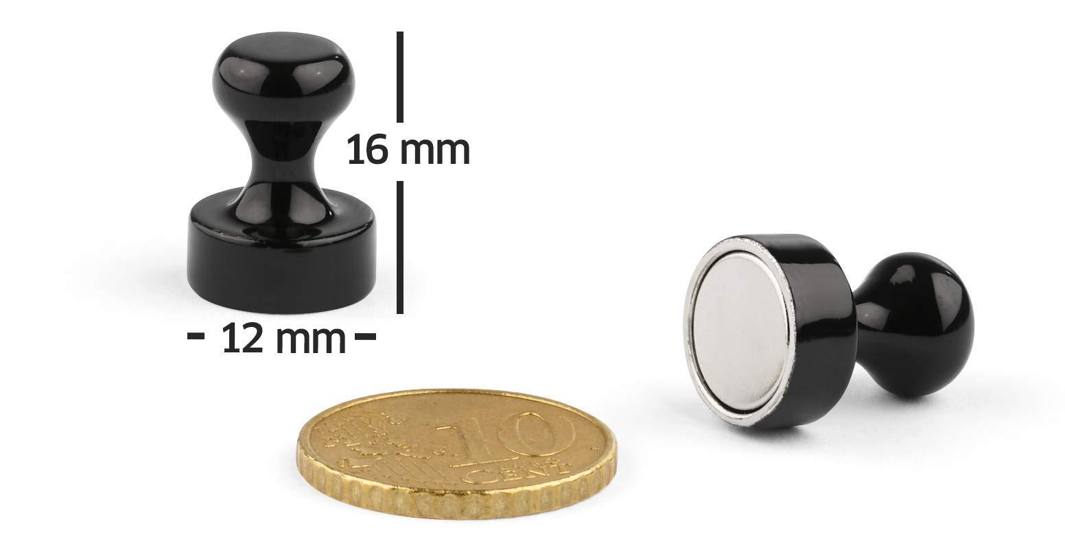 Smart House Tools Magnethaken 4 St/ück Starke Neodym Haken-Magnete /Ø 25x45 mm Haftkraft 22 kg