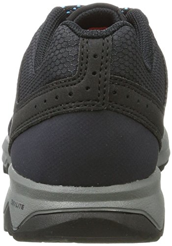 Reebok DMX Lite Katak, Sneaker Basses Femme Noir (Black/Lead/Blue Beam)