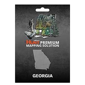 Amazoncom OnXmaps HUNT Georgia Digital Hunting Map For Garmin - Georgia map garmin