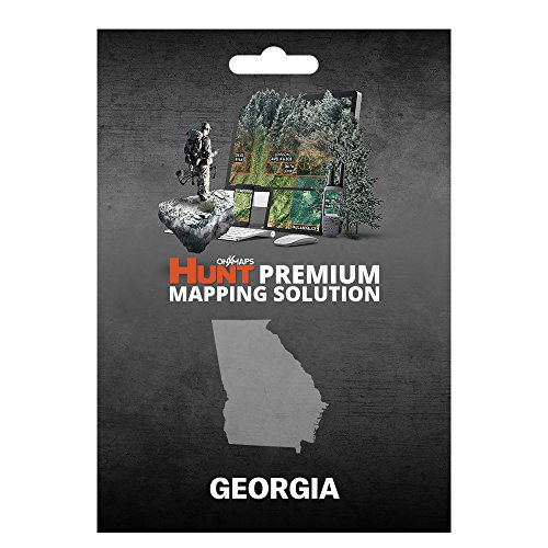 onXmaps HUNT Georgia: Digital Hunting Map For Garmin GPS + Premium Membership For Smartphone and Computer - Color Coded Land Ownership - 24k Topo - Hunting Specific Data by onXmaps
