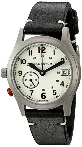 Momentum Unisex 1M-SP61L2B Pathfinder III Analog Display Swiss Quartz Black Watch