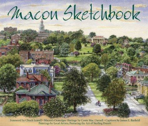 Macon Sketchbook by Conie Mac Darnell - Malls Macon