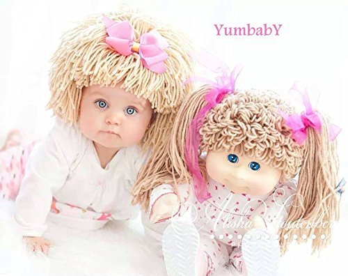 cabbage patch hat for kids yarn wig halloween costume