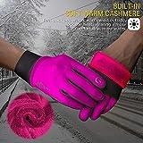SIMARI Winter Gloves Men Women Touch Screen Glove