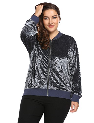 Jersey Plus Size Coat - 5