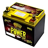 Stinger SPV35 525 Amp 12V Power Series Dry Cell Battery with Protective Steel Case for Systems Up to 1050W