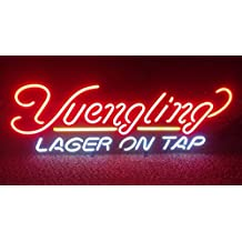 Yuengling Beer neon Signs Pub Display Beer Neon Light Signs Handicrafted Real Glass Tube19x15 THE FASTEST FREE SHIPPING